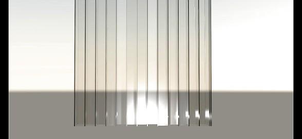 panneau Schroeder QRD 13 - Rendu transparent QRD132