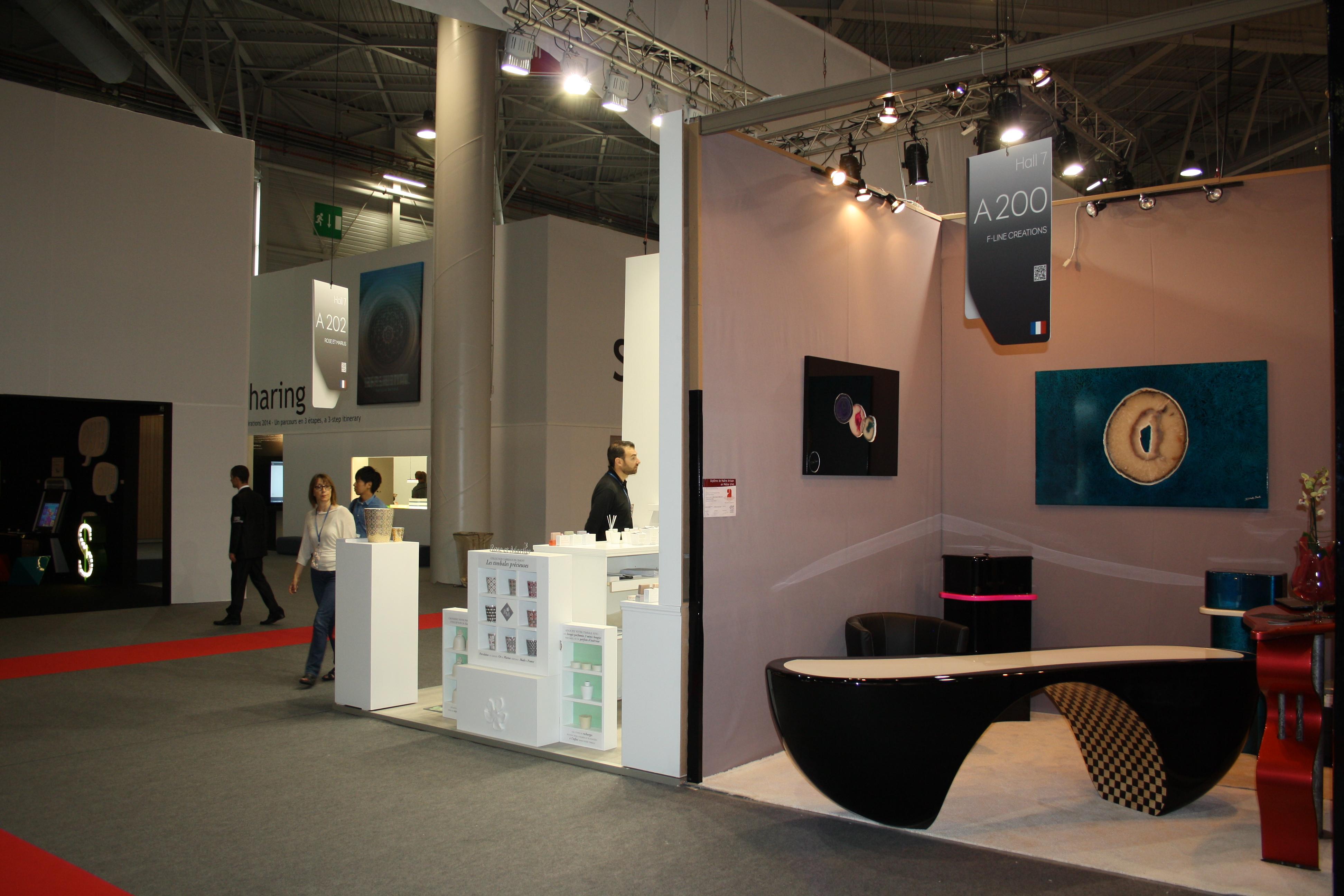 F line creations agencement haut gamme et cr ation de - Salon maison et objets ...