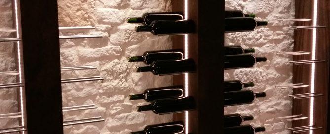 Agencement cave à vin